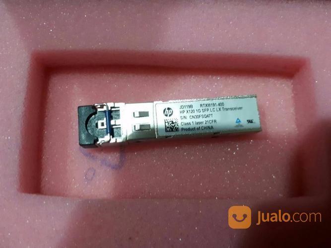 Transceiver HP X120 1G SFP LC LX JD119B (13223427) di Kota Jakarta Barat