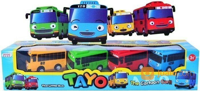 Little Bus Tayo Isi 4pcs Mainan Anak Bis Tayo 7 Cm Bekasi Jualo