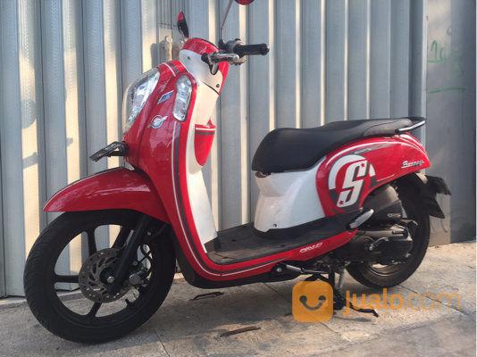 Motor Honda Scoopy Thn 2016 Warna Merah Serang Jualo