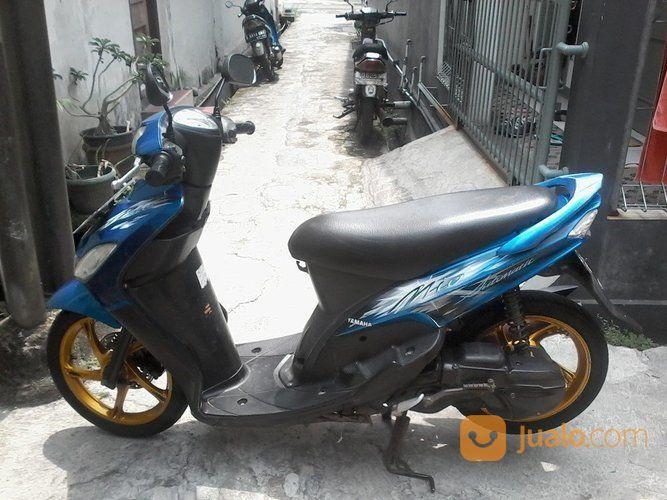 Mio Sporty Biru 2009