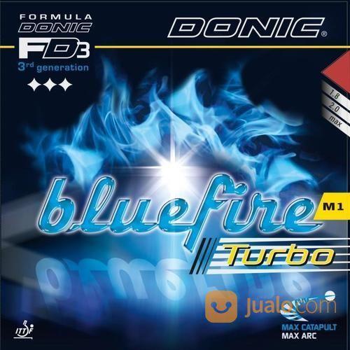 Karet Rubber Pingpong Tenis Meja Donic Bluefire M1 Turbo (13376417) di Kota Jakarta Barat