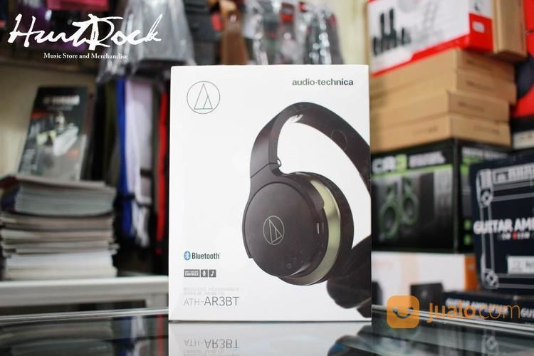 Audio Technica Ath AR3BT Bluetooth Murah Di Bandung (13511671) di Kota Bandung