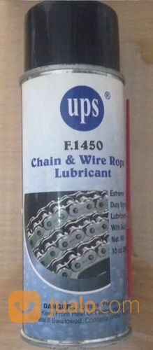Chain And Wire Rope Lubricant UPS F1450,Pelumas Rantai Kawat Seling (13540785) di Kota Jakarta Pusat
