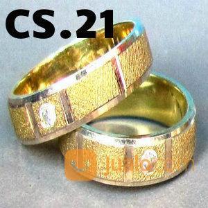 Cincin Perak Couple Custom CS.21 (13549557) di Kab. Semarang
