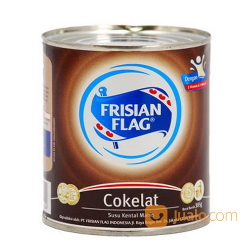 Frisian Flag Susu Kental Manis Coklat Kaleng 370 Ml Bekasi Jualo