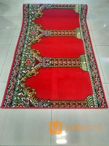 Karpet musholla red m perlengkapan rumah tangga lainnya 13600077