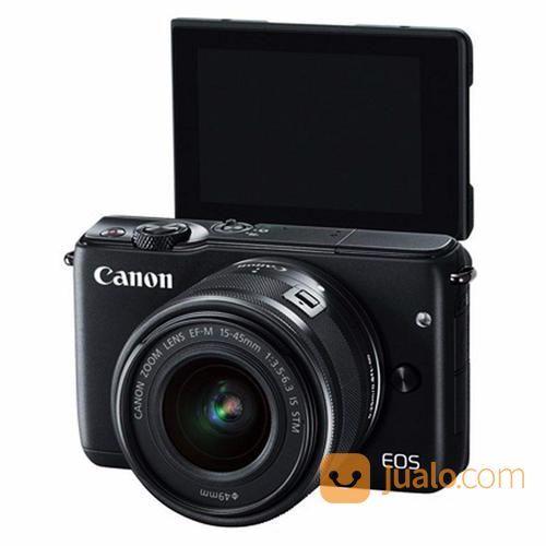 Mirrorless Canon EOS M10 Kit EF-M 15-45mm [Paket] (13602115) di Kota Surabaya