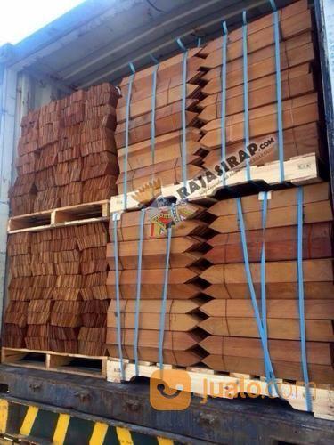 Atap Sirap Murah Kualitas Export 100% Kayu Ulin Dari Kalimantan (13607133) di Kota Depok