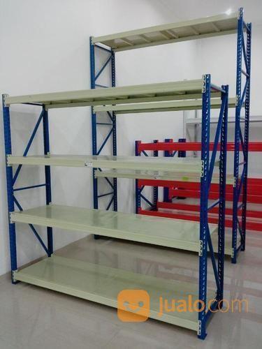 Rak gudang kapasitas perlengkapan industri 13638015