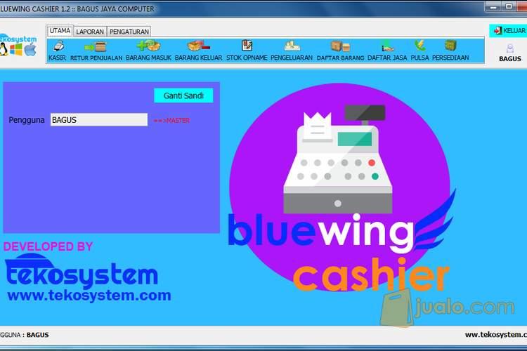 Bluewing cashier soft komputer software 1365734