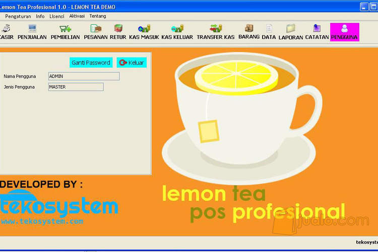 Lemon tea pos profesi komputer software 1365741