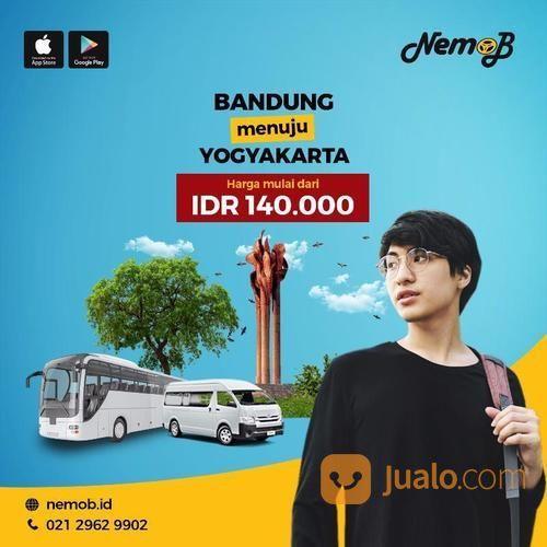 Promo Tiket Shuttle Dan Bus Murah Rute Jogja - Bandung Dan Sebaliknya. (13686485) di Kota Jakarta Utara