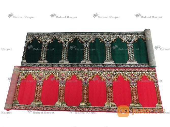 Karpet Musholla Medeena Pilar Murah Ukuran 105 X 5.70 Warna Merah Dan Hijau (13687055) di Kab. Sidoarjo