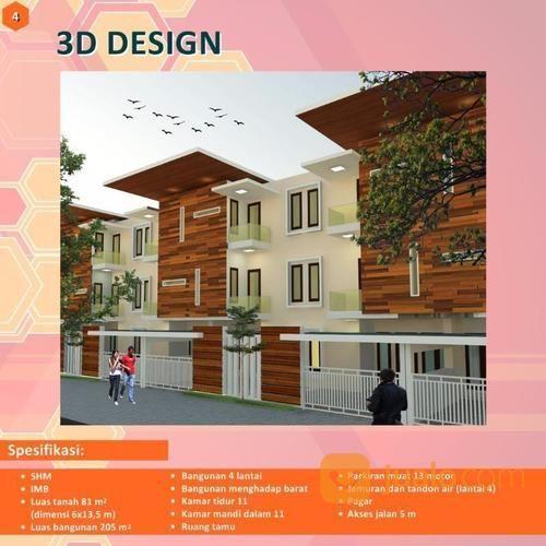 Usaha Rumah Kost Di Dekat Kampus UNMU 3 Dan Taman Rekreasi Sengkaling (13743441) di Kab. Malang