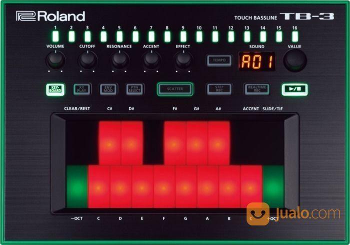 Synthesizer roland tb keyboard dan piano 13765181
