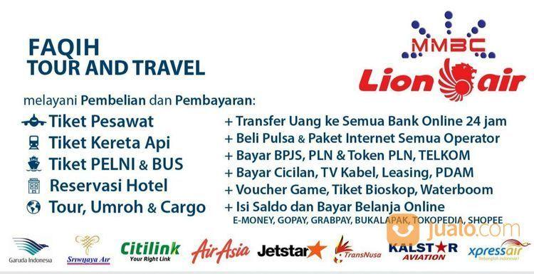 Tiket Pesawat, Kereta KAI, Reservasi Online, Paket Tour (13820749) di Kota Jakarta Timur