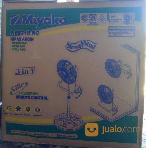 Kipas Angin Miyako Kst 18 Rc 3in1 Dengan Remote Control