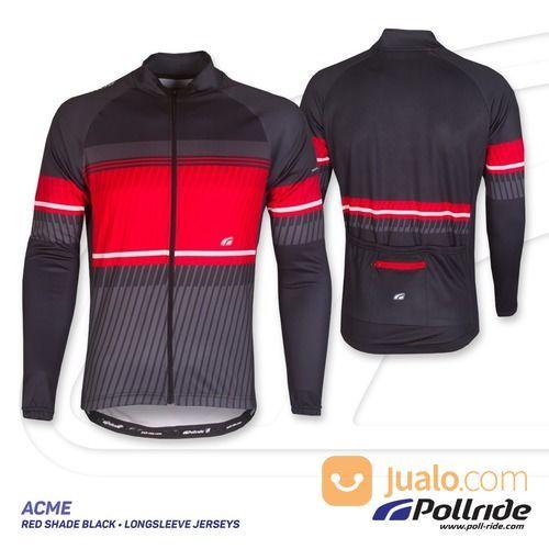 Jersey sepeda pol acm pakaian olahraga 13881457