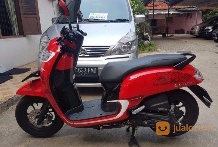 Honda Scoopy Thn 2017 Warna Merah Jakarta Utara Jualo