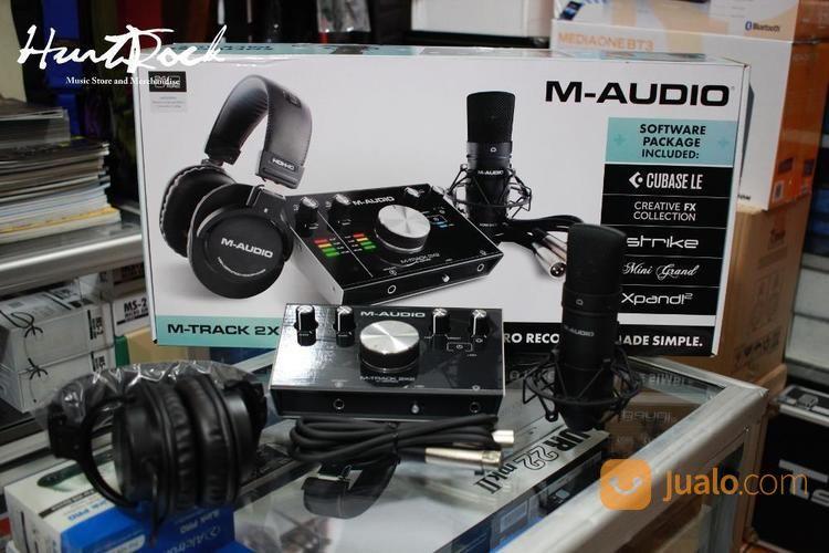 M audio m track 2x2 v speaker sytem dan sound system 14115589