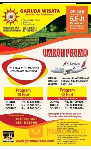 PT. Garuda Wisata - Travel Umrah & Haji Resmi 2018 Di Bulukumba (14129995) di Kab. Bulukumba
