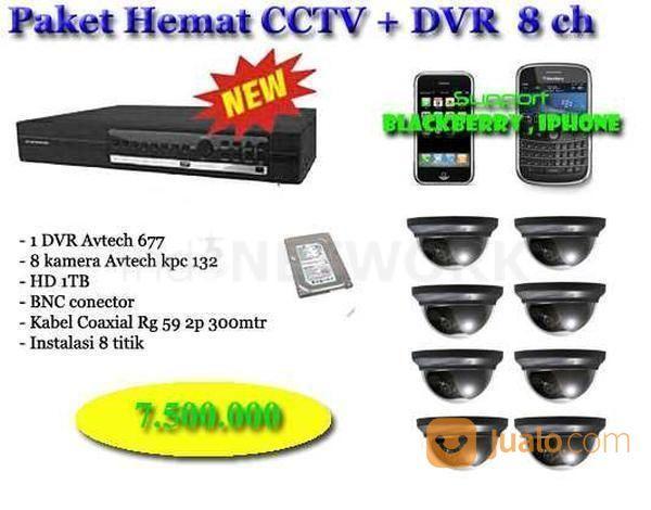Dvr paket cctv 4 ka spy cam dan cctv 14130645