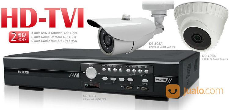 Paket cctv murah 4 ka spy cam dan cctv 14130833