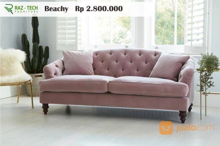 Kursi Dan Sofa Tipe Sofa Single Beachy Raz Tech Furniture Medan Jualo