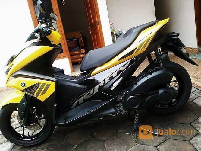 Yamaha Aerox 155cc Vva 2017 Kuning Hitam Istimewa Surakarta Jualo