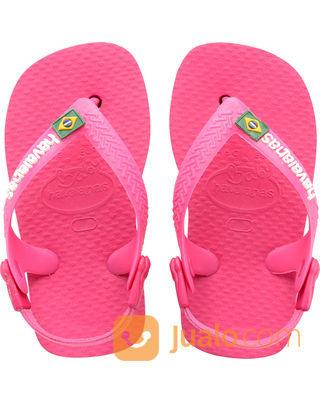 Sandal Havaianas Pink Logo Brazil Jakarta Timur Jualo
