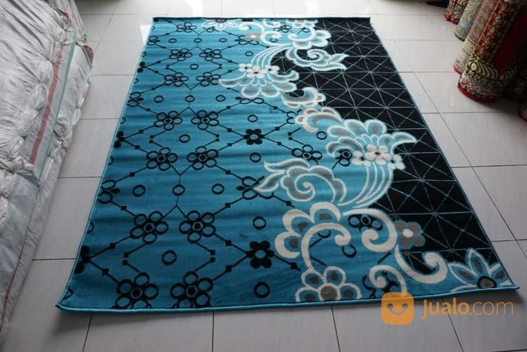 Karpert Modero Terlaris Mineral Blue Ukuran 160 X 210 (14168333) di Kota Surabaya