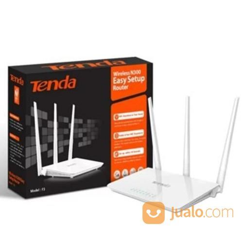 Tenda F3 Wireless Router-Extender-Access Point WIFI REPEATER NEW FH303 (14194669) di Kota Surabaya