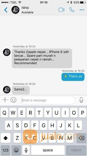 Penggantian Battery Apple IPhone Original (14212449) di Kota Surabaya
