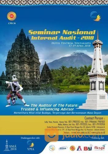 SEMINAR NASIONAL INTERNAL AUDIT 2018 (14230563) di Kota Jakarta Selatan