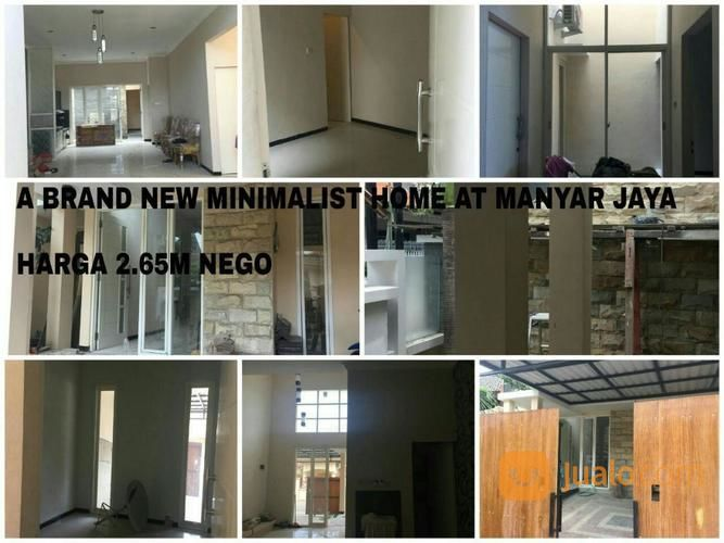 Rumah At MANYAR JAYA A Brand New Modern MINIMALIST Home At MANYAR JAYA (14236519) di Kota Surabaya