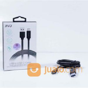 Jivo Cable USB 1.2m Quick Charge For Type C - BLACK (14249553) di Kab. Bantul