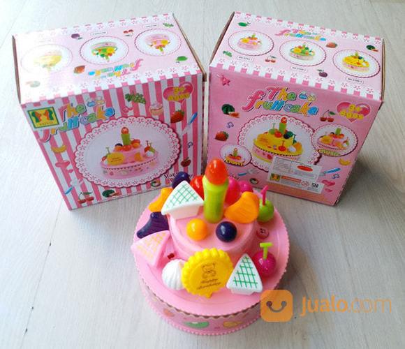 Mainan Birthday Cake Fruitcake Kue Ulang Tahun No 2355 Terbaru Jakarta Pusat Jualo