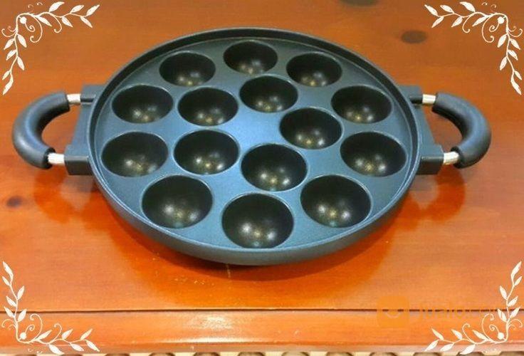 Cetakan takoyaki poff rumah tangga dapur 14307553