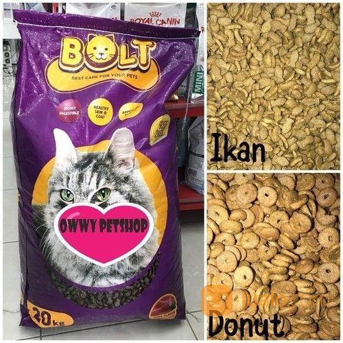 Makanan Kucing Murah Bolt 25 Kg Bekasi Jualo