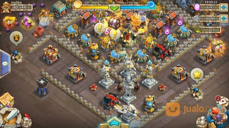 Akun konflik kastil c permainan dan game console lainnya 14356969