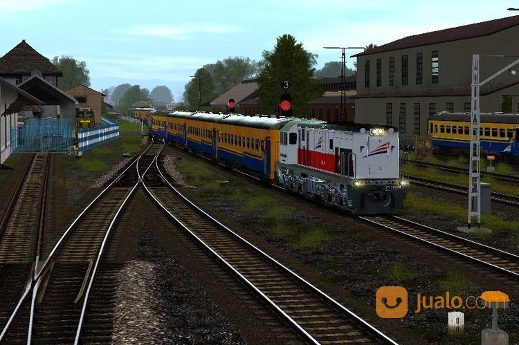 Kereta Simulator Indonesia Trainz 2009 Lengkap (14405209) di Kota Bandung