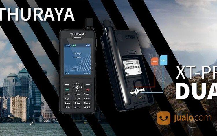 Telepon Satelit Thuraya Xt Dual New Perdana