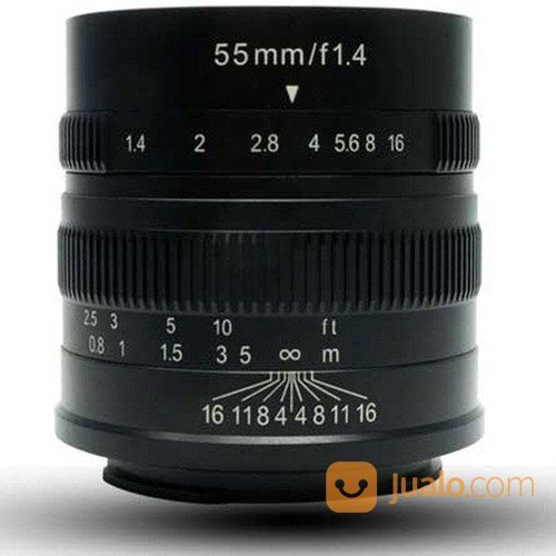 Lensa 7ARTISANS 55MM F1.4 FOR Mirrorless SONY E-MOUNT (14436713) di Kota Surabaya