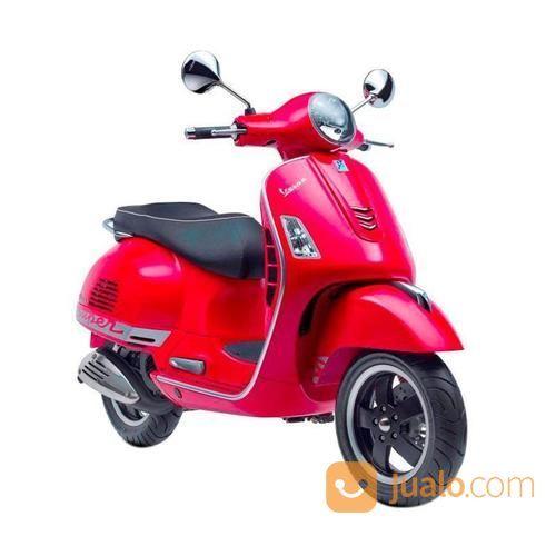 Vespa Gts 150 3v I E Sepeda Motor Rosso Dragon Kreedit Tanpa Dp
