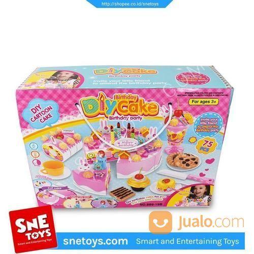 Mainan Kue Ulang Tahun Potong Mainan Anak Birthday Cake 75pcs Jakarta Utara Jualo