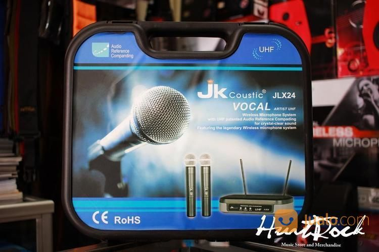 Mic Wireless JK Coustic JLX 24HC (14472215) di Kota Bandung