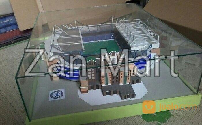 Miniatur Replika Stadion Stamford Bridge Chelsea Midle Size (14500623) di Kab. Cirebon