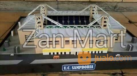 Miniatur Replika Stadion Luigi Ferraris Genoa Sampdoria Mini Size (14500703) di Kab. Cirebon