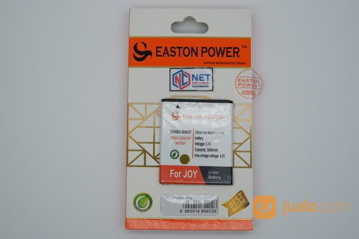 BATERAI / BATRE / BATTERY / BATRAI OPPO R1001 / JOY EASTON POWER (14535777) di Kota Palembang