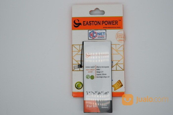 BATERAI / BATRE / BATTERY IPHONE 6+ / 6 PLUS EASTON DOUBLE POWER (14535799) di Kota Palembang